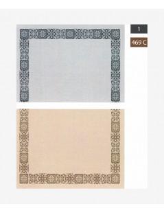 3ART Cenefa Mosaico Gris-Beige