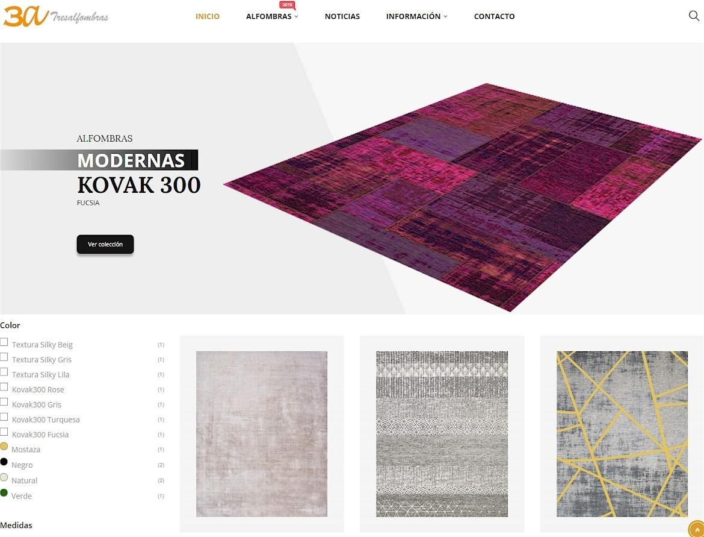 Tresalfombras estrena nueva página web
